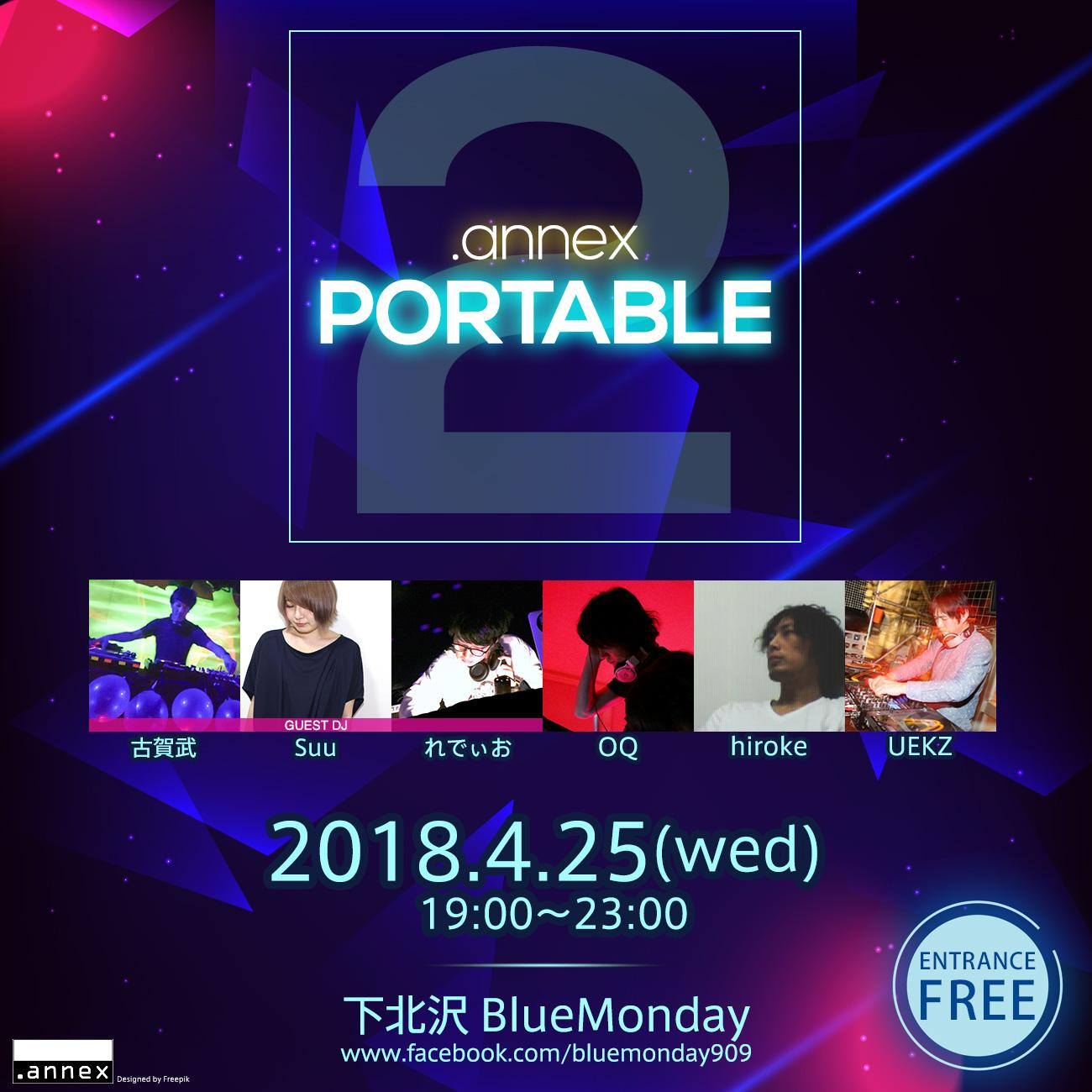 .annex PORTABLE 2 flyer